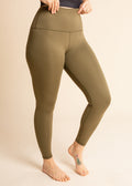 Olive Green Signature Legging