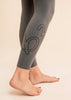 B3 x Beyond Yoga Plush Charcoal High Waisted Midi Legging