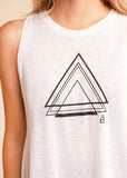 Triangle Vented Tank