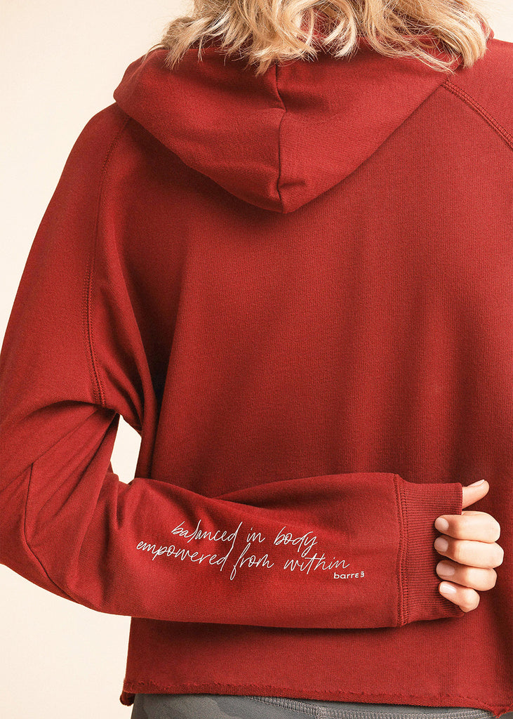 Cranberry Signature Mission Hoodie