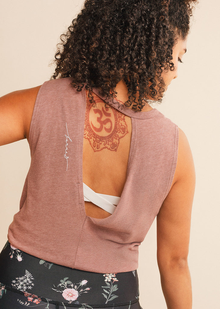 B3 x Beyond Yoga Wild Ginger Tank Top
