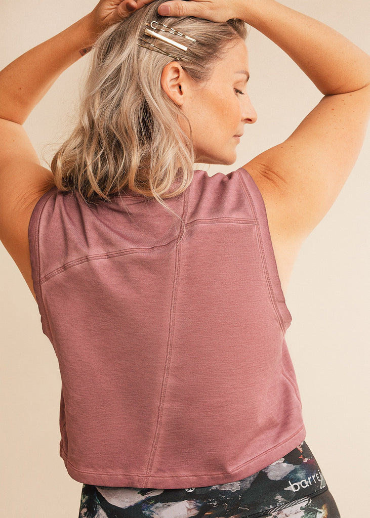 barre3 | lululemon Broken Beats Washed Plumful Tank