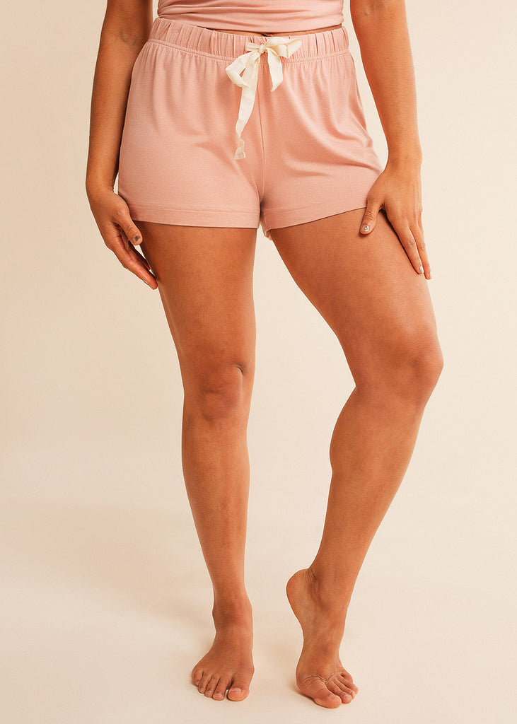 Goodnight Dusty Pink Shorts
