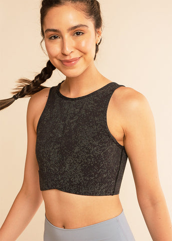 B3 x Beyond Yoga Grey Signature Tank