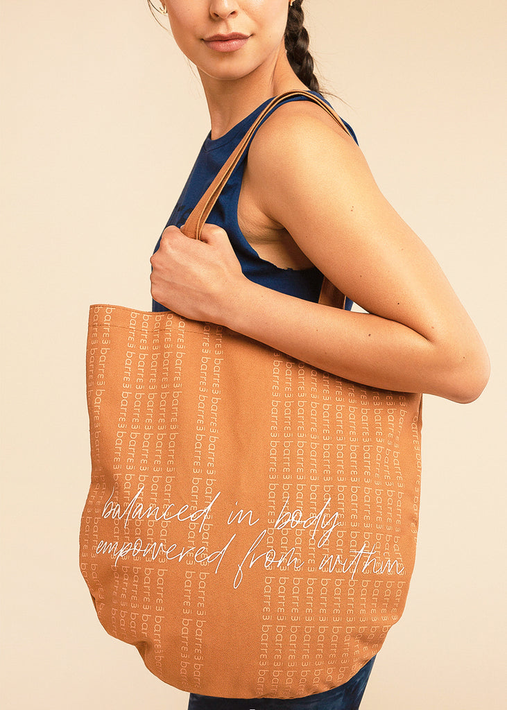 Orange Mission Tote
