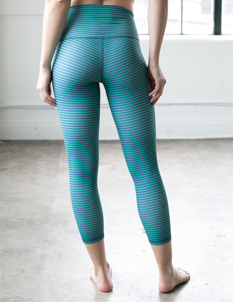 DYI Blue Ivy Stripe Signature Legging