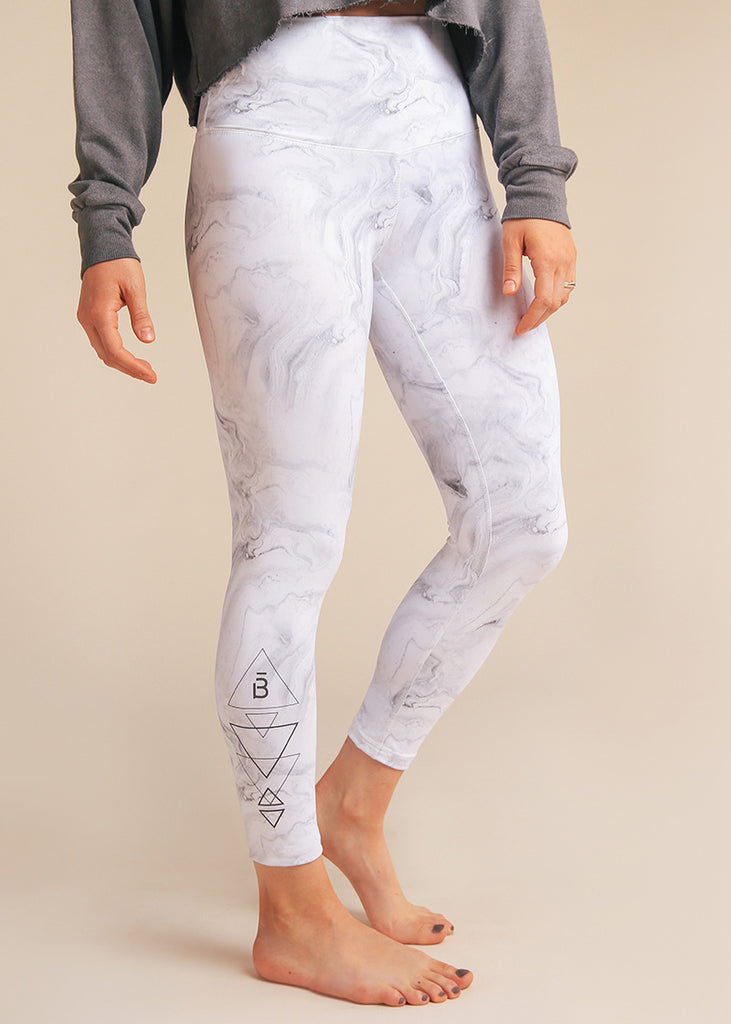 B3 X DYI High Waisted Marble Legging