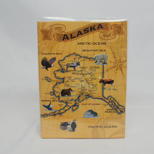 Historic Map With Animals 100 Photo Album