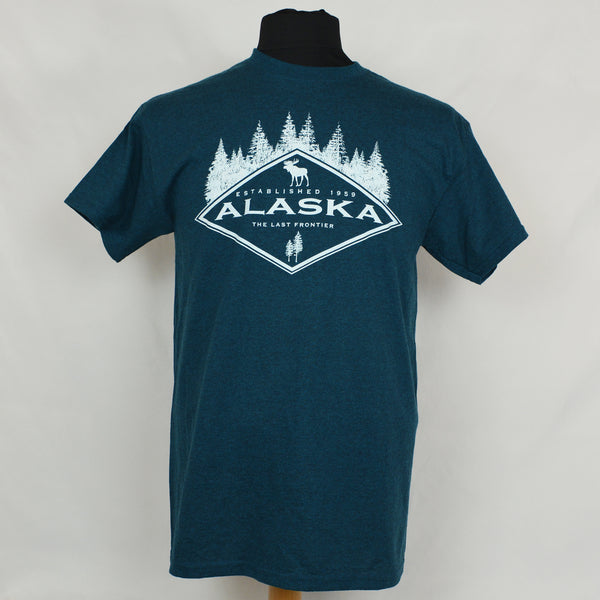 Alaska Diamond Adult T-Shirt