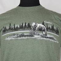 Grizzly Tundra Adult T-Shirt