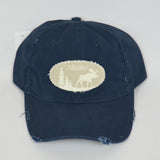 Lodge Moose Baseball Hat