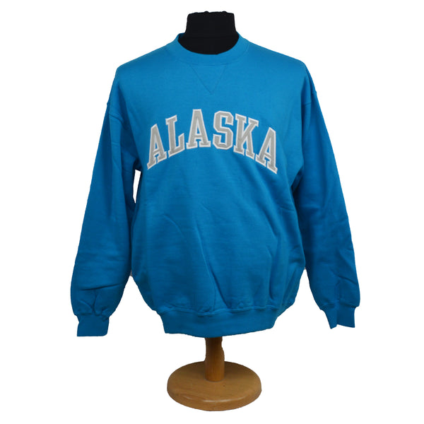 Alaska Applique Blue Jewel Sweatshirt