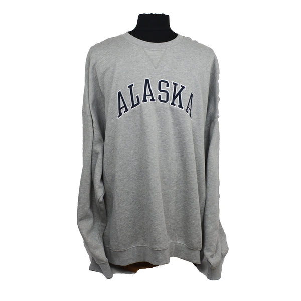 Alaska Applique Sport Grey Sweatshirt