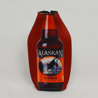 AK Brewing Summer Ale Zipper Coozie