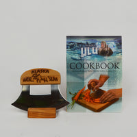 Made in Alaska Ulu Knife with Stand