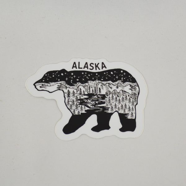 Bear Scene Sticker