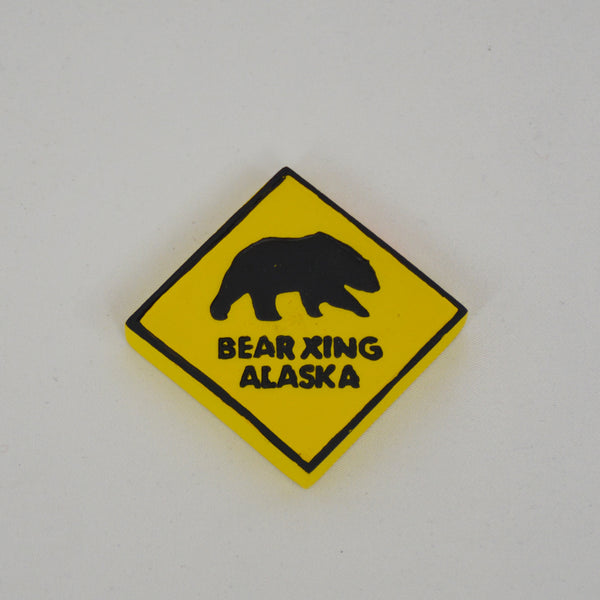 Bear Crossing Magnet