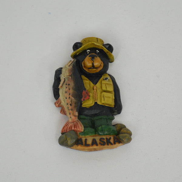 Big Catch Bear Magnet