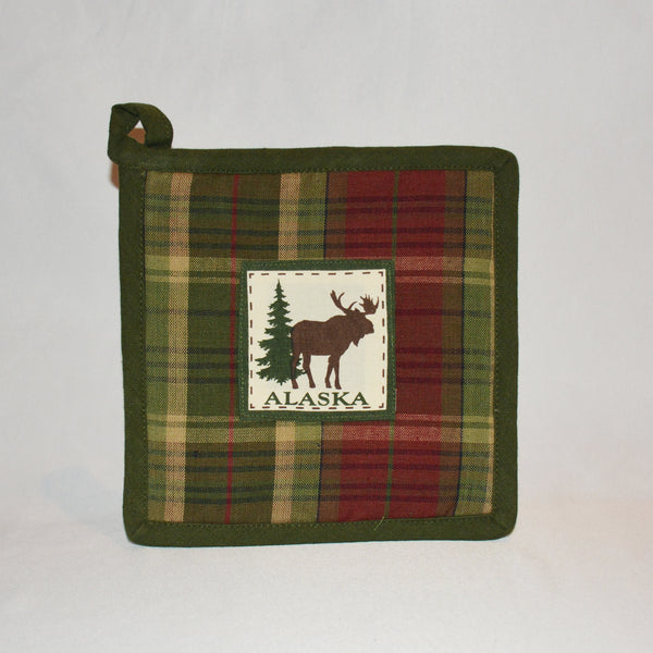 Birch Moose Hot Pad