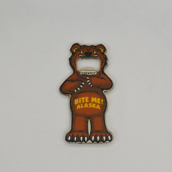 Bear Bottle Opener Magnet