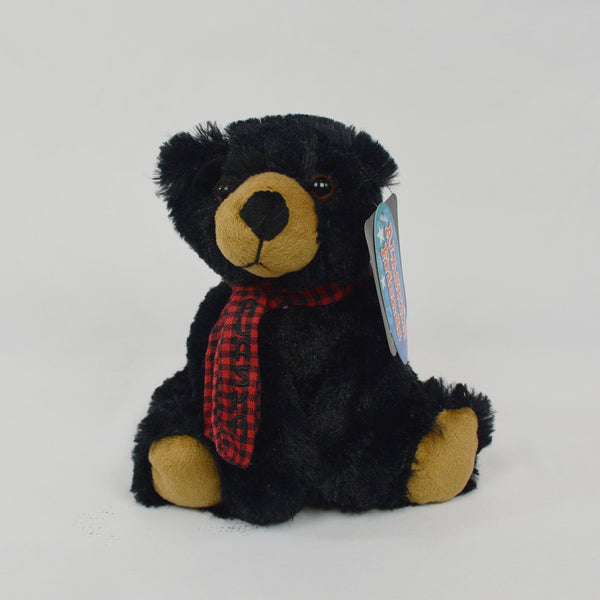 Black Bear with Scarf