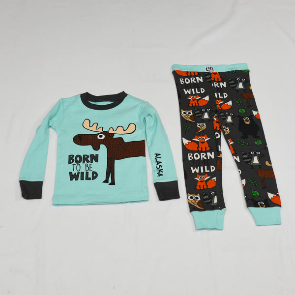 Born To Be Wild Kid PJ Set