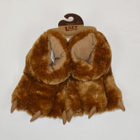 Brown Bear Paw Slipper