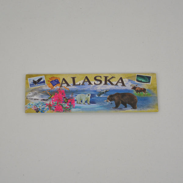 Alaska Collage Magnet