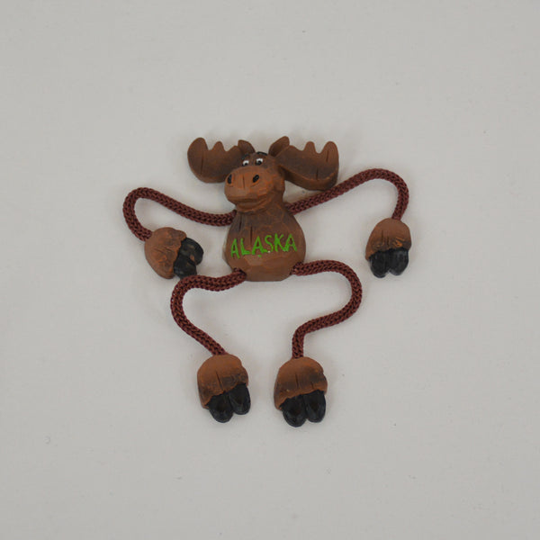 Dangle Moose Magnet