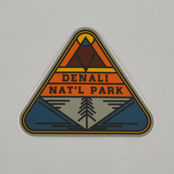 Denali Triangle Sticker