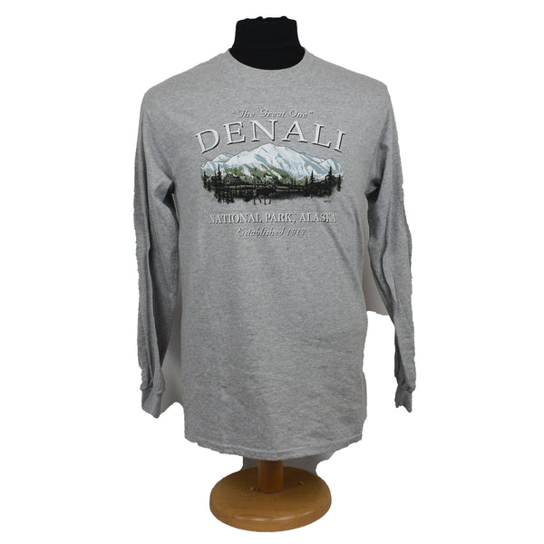 Denali The Great One Adult Long Sleeve T-Shirt
