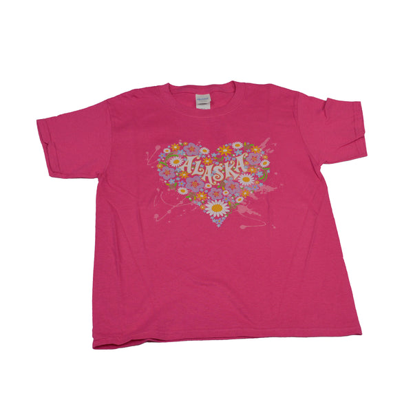Flower Heart Kid T-Shirt
