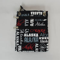 Alaska Graphic Print Passport Holder
