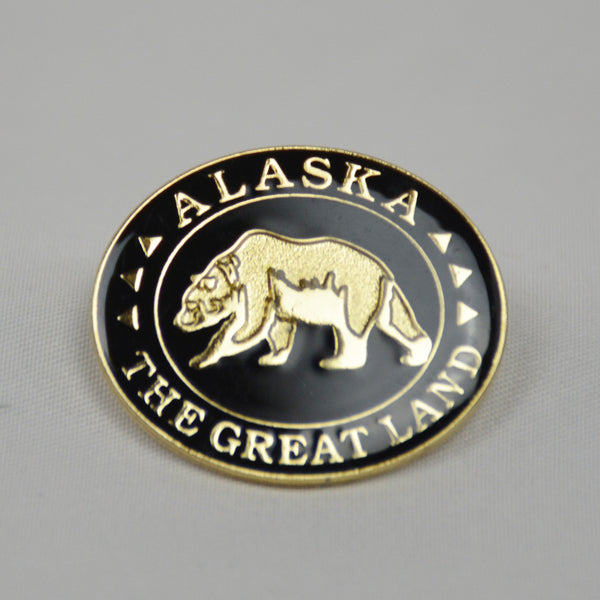 Bear Great Land Pin