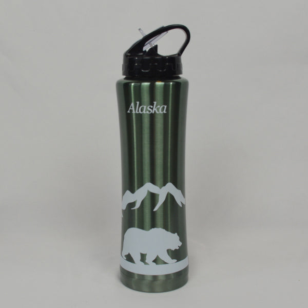 Lodge Bear Water Bottle