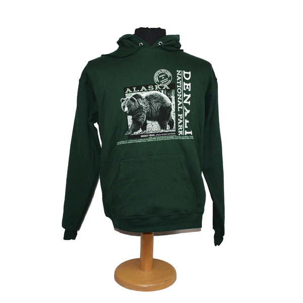 Grizzly Photo Hoodie