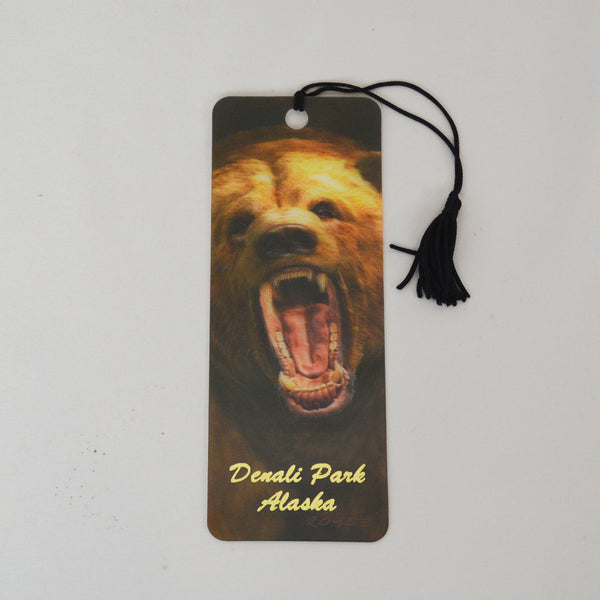 Grizzly 3D Bookmark