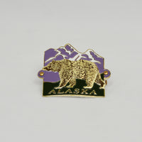 Grizzly Bear Hiking Medallion