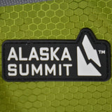 Alaska Summit Large Green & Grey Backpack