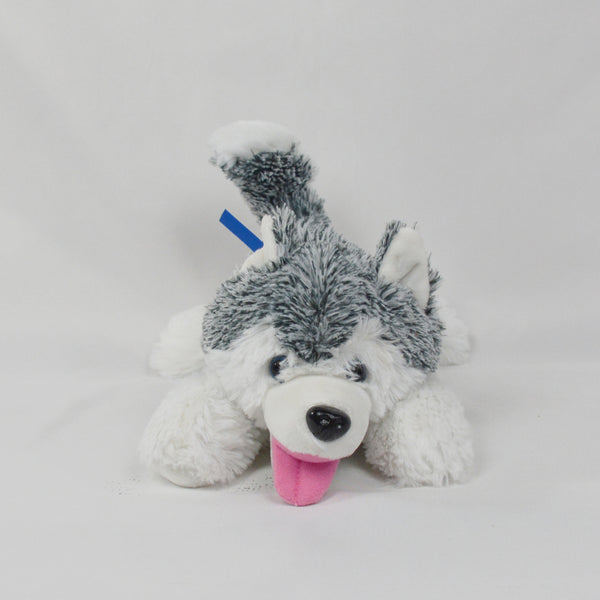Chenille Husky with Ribbon