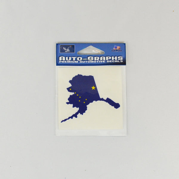Alaska Flag Map Decal