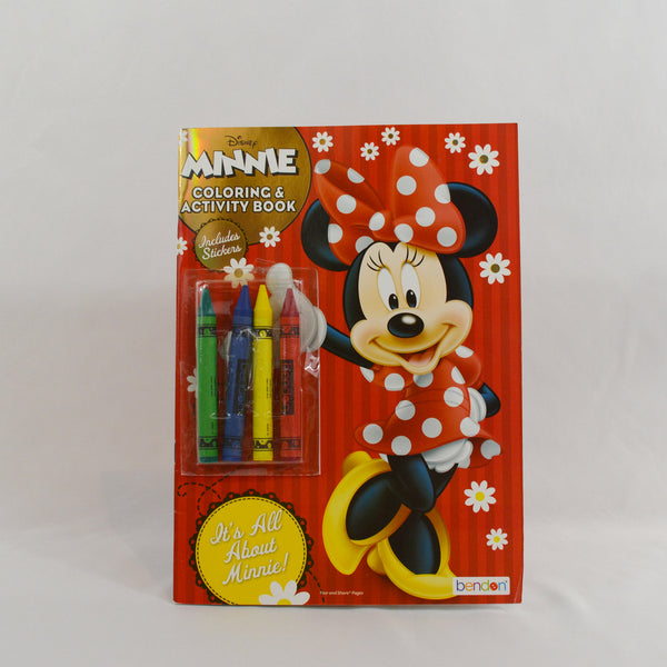 Minnie Coloring & Activity Book