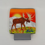 Moose and Bear Can Coozie