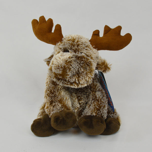 Chenille Moose with Ribbon