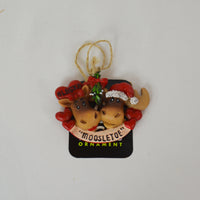 """Moosletoe "" Ornament"