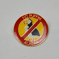 No Puffin Pin