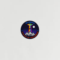 Outta This World Circle Sticker