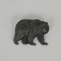 Pewter Bear Pin