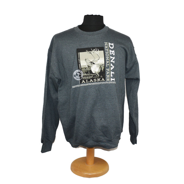 Caribou Photo Sweatshirt