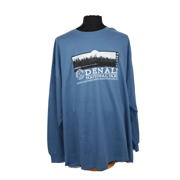 Denali Photo Adult Long Sleeve T-Shirt